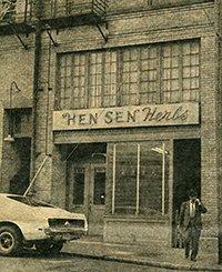 Hen Sen Old Storefront in 50's