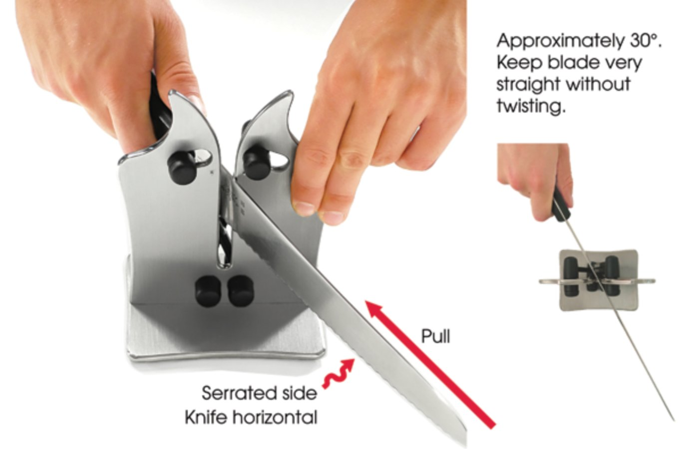 How to Sharpen Serrated