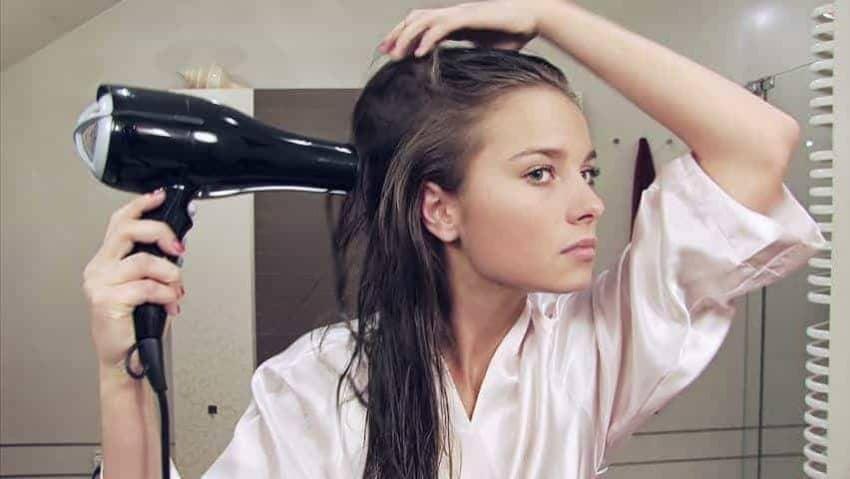 Hair Loss Blow Drying