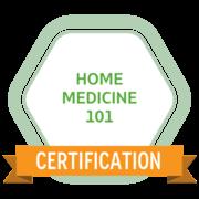 home medicine 101 badge