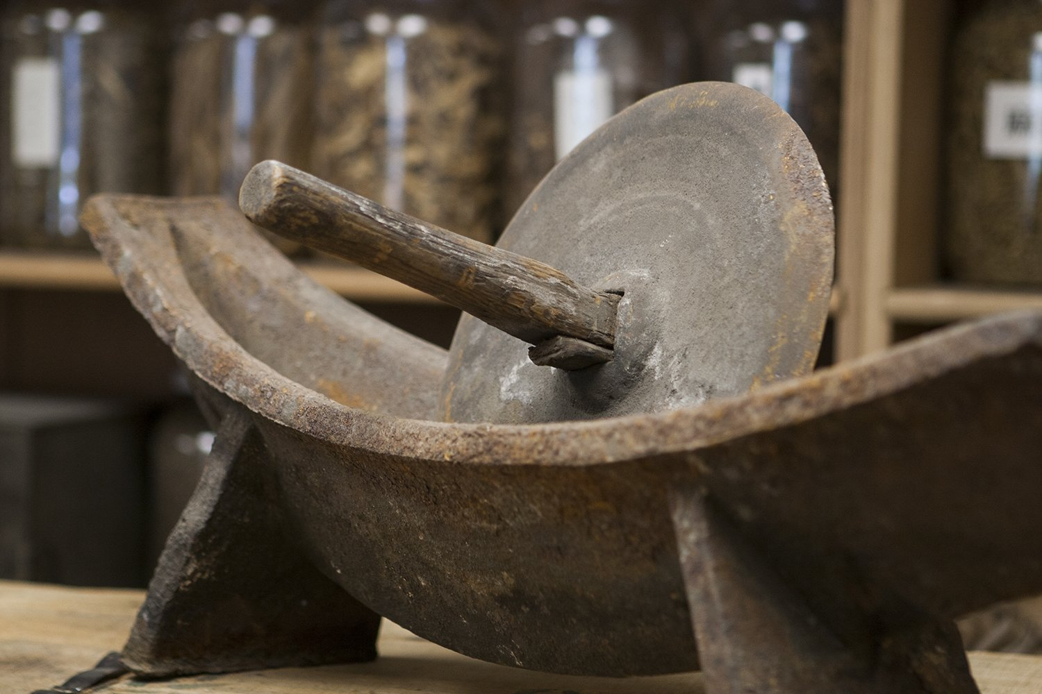 Old Grinding tool