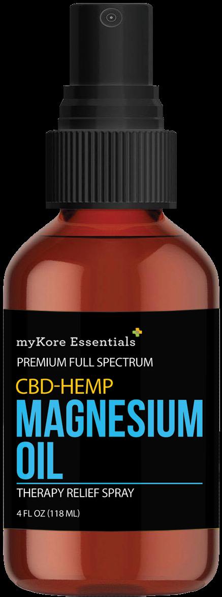 CBD/HEMP Magnesium Oil