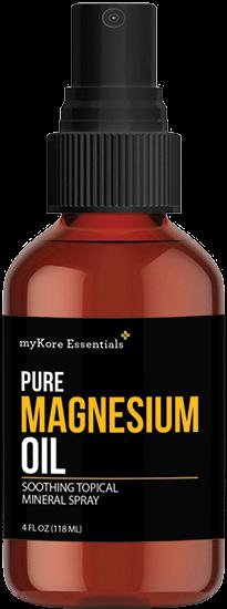 Natural Pain Relief: myKore Essentials Transdermal Magnesium Spray