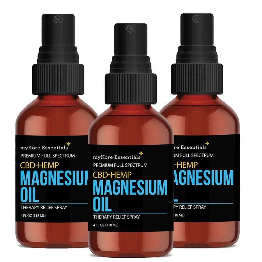 myKore Essentials CBD/HEMP Magnesium Oil