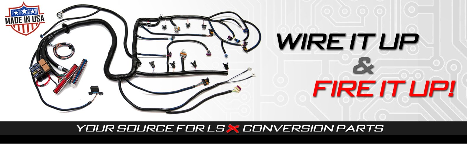 Psi Standalone Wiring Harness Ls Wirng Lsx Gm Engine Cooling Diagram Swap Ls1 Ls2 Ls3 Ls7 Lsa Ls9 Lt1