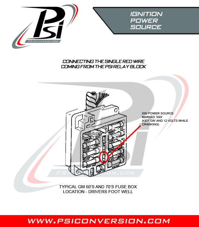 General Installation | Psi Wire Harness |  | PSI Conversion