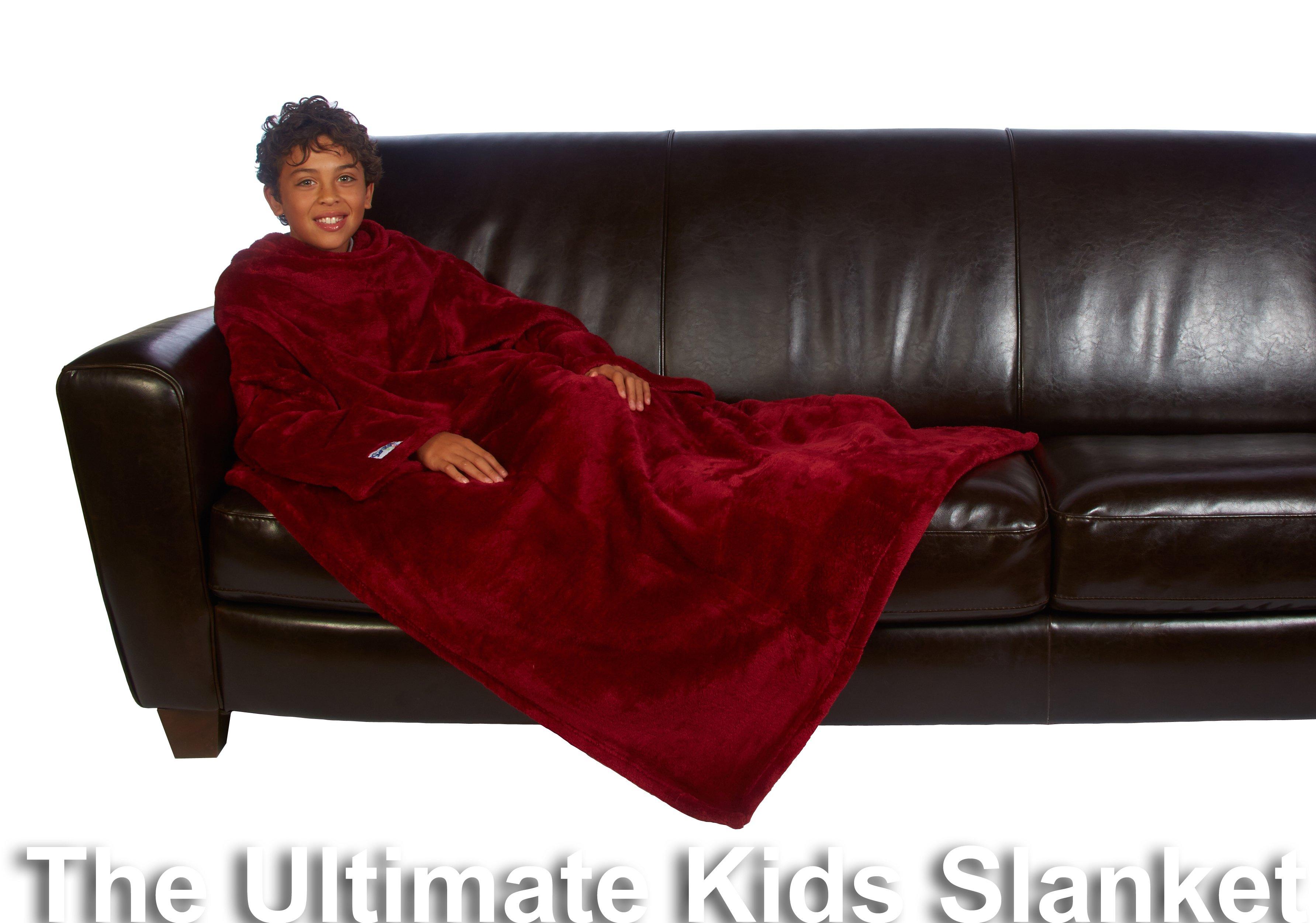 Coperta Con Maniche Slanket.The Slanket The Original Blanket With Sleeves Home