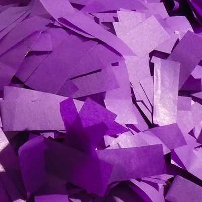 purple tissue confetti