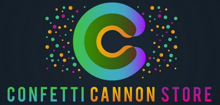 confetti cannon store logo