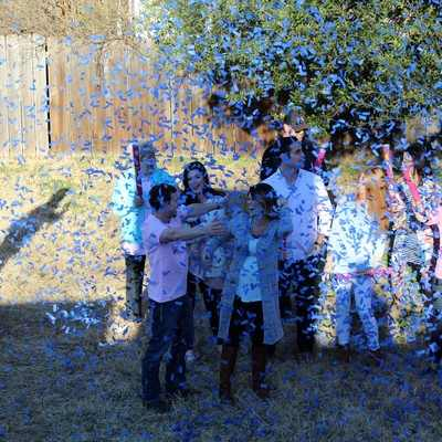 It's a Boy Surprise with Blue Confetti