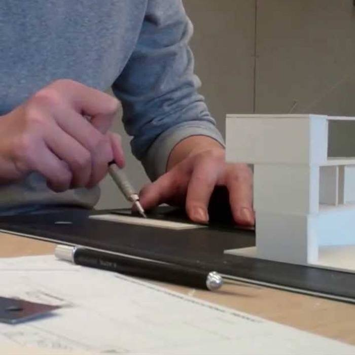 Architect model building