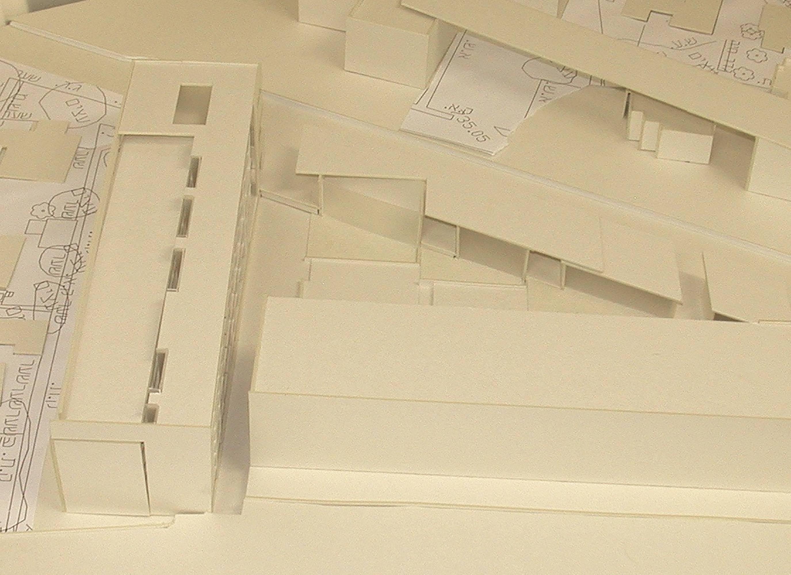 Preliminary architectural study model