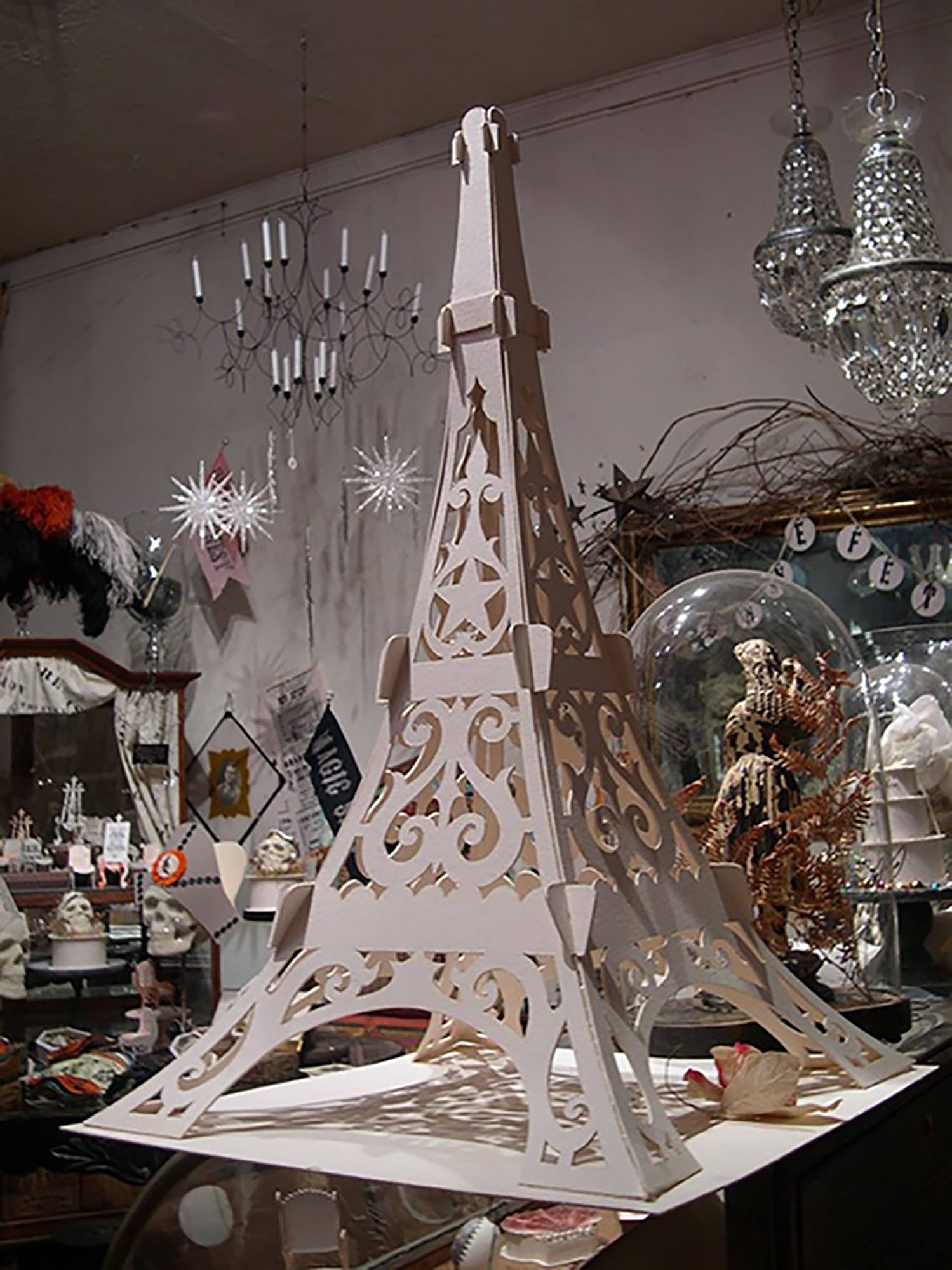 Taskboard Eiffel tower
