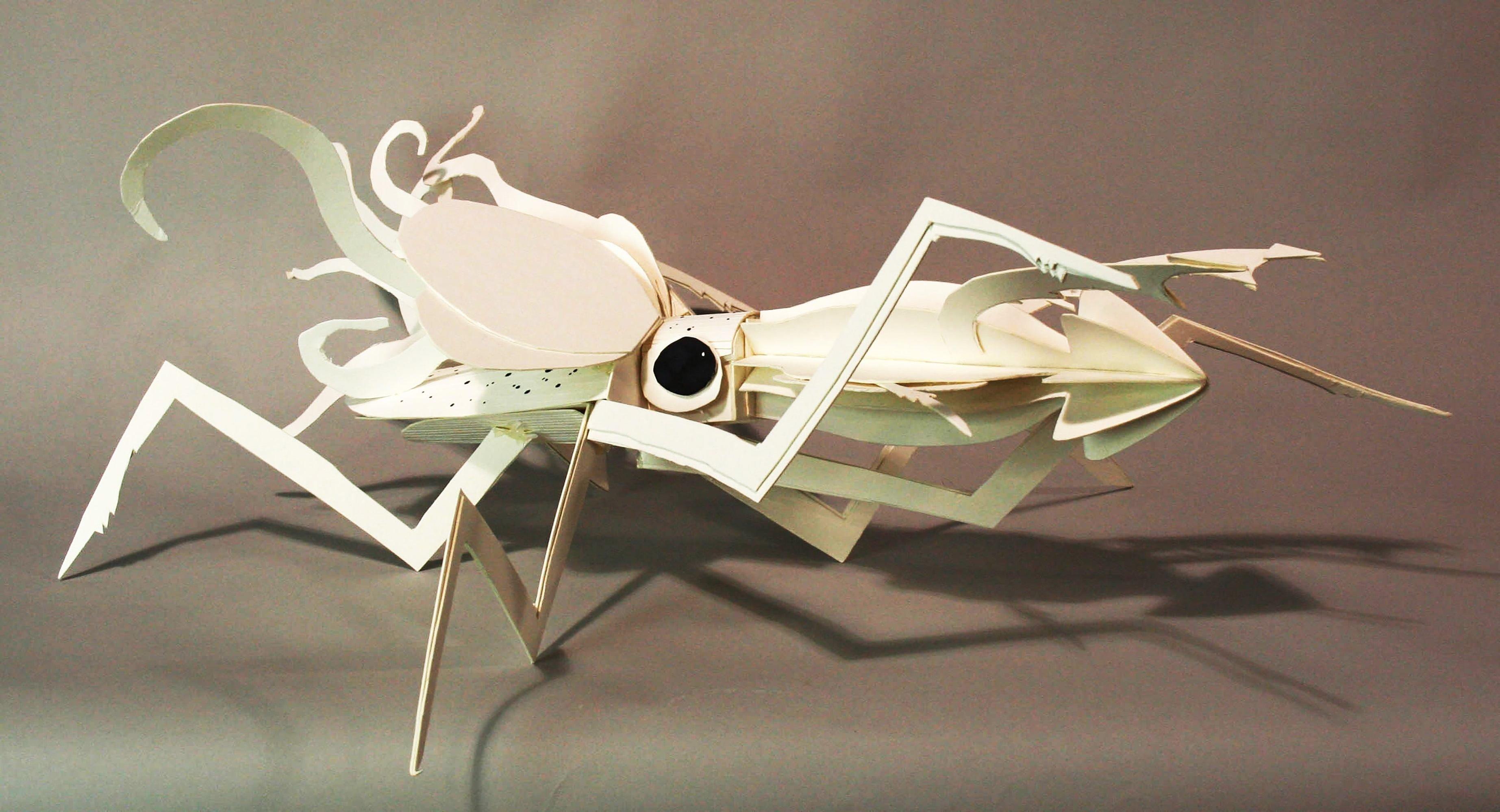 Octopus cardboard Taskboard project