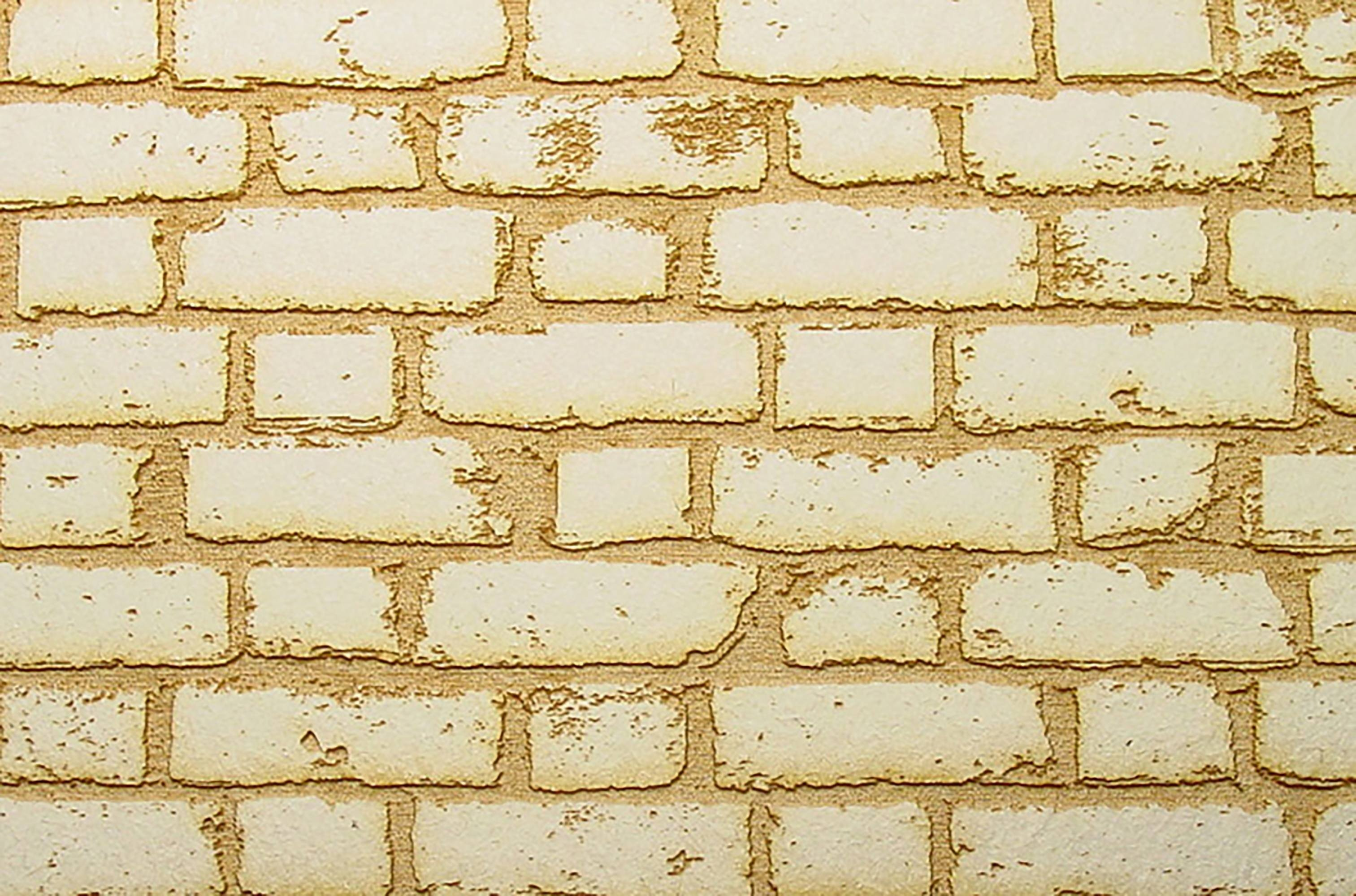 Bricks etched with laser cutter