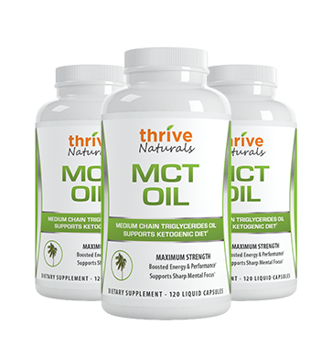 MCT Oil 3 Bottles