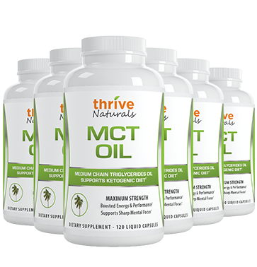 MCT Oil 6 Bottles