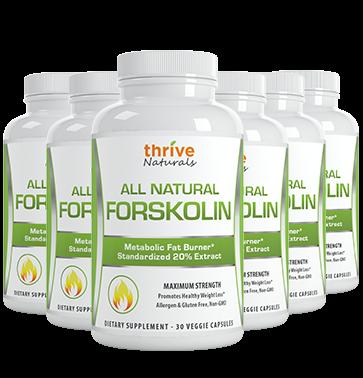 thrive naturals all natural forskolin
