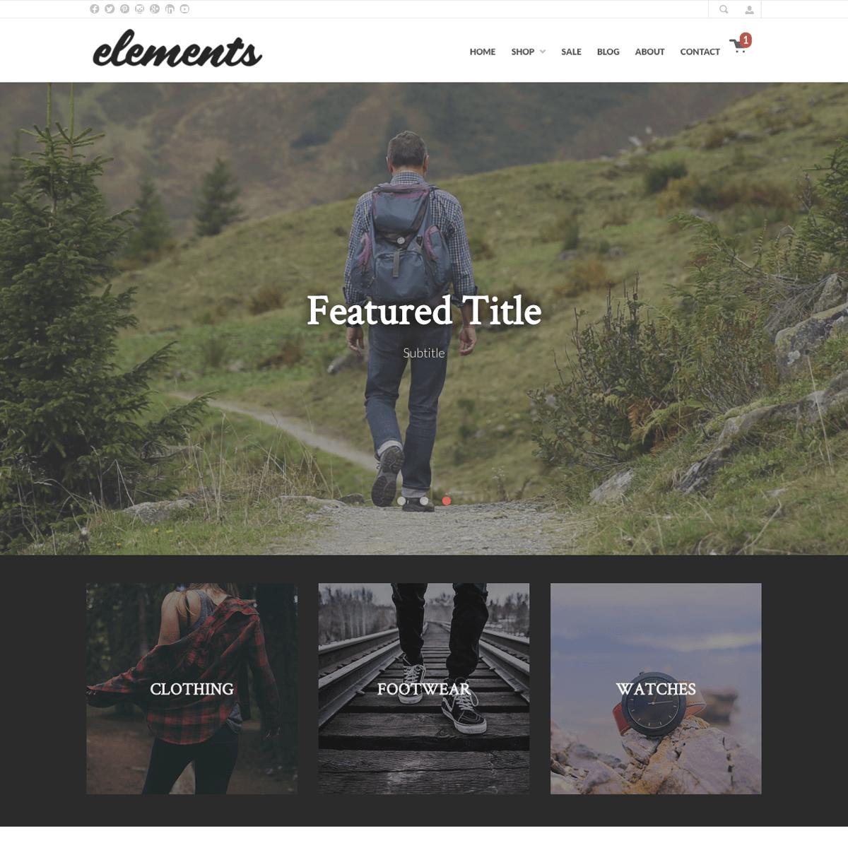 Elements - Desktop