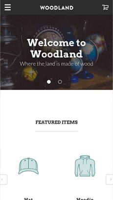 Woodland - Mobile